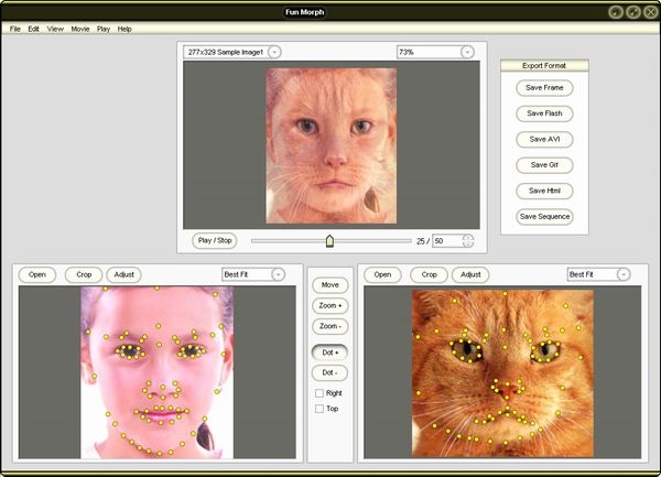 Fun Morph - photo morph, morph, morphing, warp, warping, animation tools, fun, funny,joke, f - Turn Your Photo into Funny and Morphing Movie! photo morph, morph, morphing, warp, warping, animation tools, fun, funny,joke, f photo morph, morph, morphing, warp, warping, animation tools, fun, funny,joke, f photo morph, morph, morphing, warp, warping, animation tools, fun, funny,joke, f